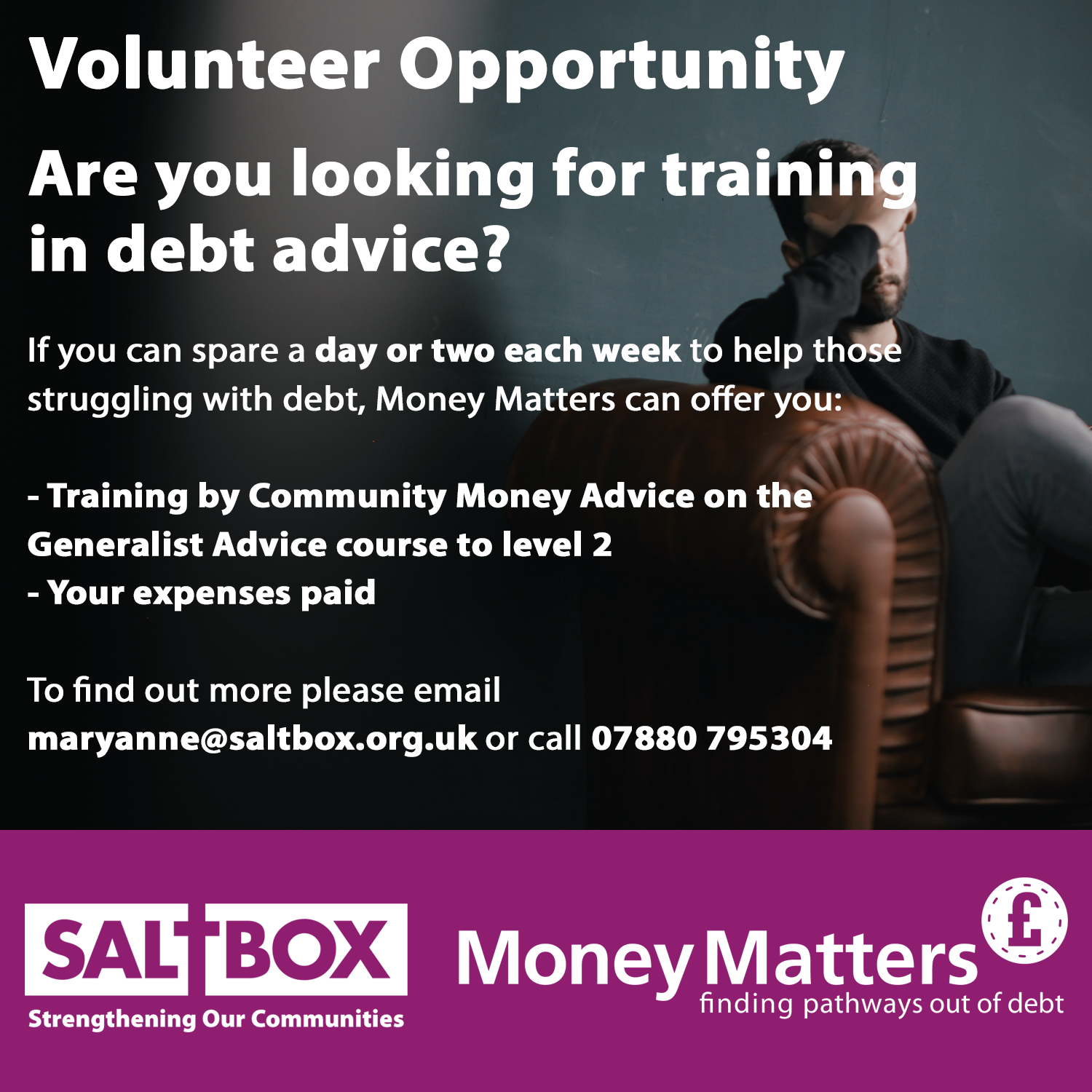 JOIN THE TEAM - Money Matters